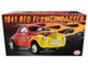 1941 Willys Gasser Red Yellow Flames Limited Edition 408 pieces Worldwide 1/18 Diecast Model Car ACME A1800916