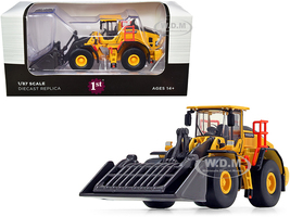 Volvo L180H Refuse Wheel Loader 1/87 HO Diecast Model First Gear 80-0337