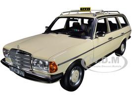 1982 Mercedes Benz 200 T Taxi Yellow 1/18 Diecast Model Car Norev 183731