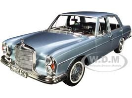 1968 Mercedes Benz 280 SE Light Blue Metallic 1/18 Diecast Model Car Norev 183760