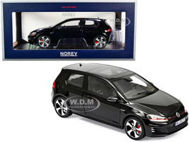 2013 Volkswagen Golf GTI Black 1/18 Diecast Model Car Norev 188550