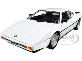 BMW M1 Coupe White NEX Models 1/24 Diecast Model Car Welly 24098