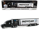 Kenworth T2000 2020 NTT IndyCar Series Team Transporter Black White Hobby Exclusive 1/64 Diecast Model Greenlight 30178