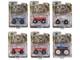 Kings of Crunch Set of 6 Monster Trucks Series 7 1/64 Diecast Model Cars Greenlight 49070