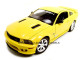 2007 Saleen Mustang S281E Yellow 1/18 Diecast Model Car Welly 12569