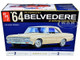 Skill 2 Model Kit 1964 Plymouth Belvedere Coupe Hardtop 1/25 Scale Model AMT AMT1188 M