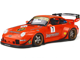 Porsche RWB 993 #7 Jagermeister Asia Exclusive Series 1/18 Model Car GT Spirit Kyosho KJ039