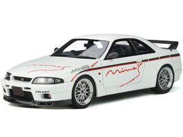 Nissan Skyline GT-R R33 Mine's RHD Right Hand Drive White 1/18 Model Car Otto Mobile OT824