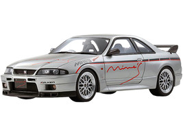 Nissan Skyline GT-R BCNR33 Mine's RHD Right Hand Drive Silver 1/18 Model Car Otto Mobile Kyosho OTM871