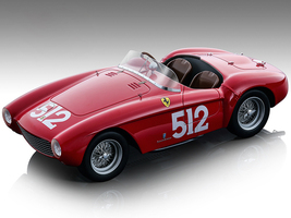 Ferrari 500 Mondial #512 Sterzi Rossi Mille Miglia 1954 Mythos Series Limited Edition 99 pieces Worldwide 1/18 Model Car Tecnomodel TM18-142 C