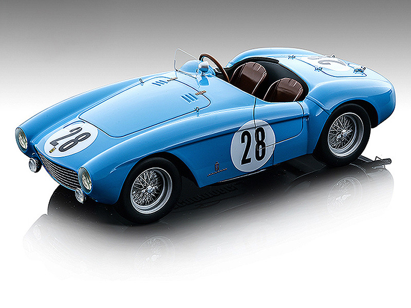 Ferrari 500 Mondial #28 Ricard Pozzi Formula One F1 Reims Grand Prix 1954 Mythos Series Limited Edition 89 pieces Worldwide 1/18 Model Car Tecnomodel TM18-142 D