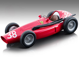 Ferrari 553 Squalo F1 #38 Mike Hawthorn Winner Formula One F1 Spanish Grand Prix 1954 Mythos Series Limited Edition 220 pieces Worldwide 1/18 Model Car Tecnomodel TM18-150 B