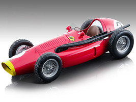 Ferrari 553 Squalo F1 #2 Jose Froilan Gonzalez Formula One F1 French Grand Prix 1954 Mythos Series Limited Edition 145 pieces Worldwide 1/18 Model Car Tecnomodel TM18-150 C