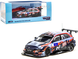 Hyundai i30 N TCR Yokohama WTCR 2019 Decals #1 #5 1/64 Diecast Model Car Tarmac Works T64-031-19WTCR01