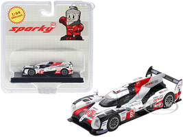 Toyota TS050 Hybrid #8 Toyota Gazoo Racing Winner 24 Hours of Le Mans 2019 1/64 Diecast Model Car Sparky Y139B
