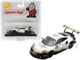 Porsche 911 RSR #91 Porsche GT Team 2nd LMGTE Pro Class 24 Hours of Le Mans 2019 1/64 Diecast Model Car Sparky Y140B