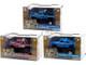 Kings of Crunch Set of 3 Monster Trucks Series 3 1/43 Diecast Model Cars Greenlight 88031 88032 88033