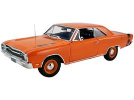 1969 Dodge Dart GTS 440 Orange Black Stripe Limited Edition 786 pieces Worldwide 1/18 Diecast Model Car ACME A1806404