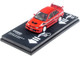 Mitsubishi Lancer Evolution VI Tommi Makinen Edition Red Black White Stripes 1/64 Diecast Model Car Tarmac Works T64R-021-TMER