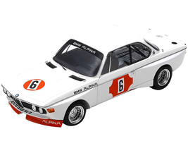 BMW 3.0 CSL #6 Niki Lauda Brian Muir Winner 4H Monza 1973 1/18 Model Car Spark 18S414