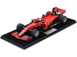 Ferrari SF90 #5 Sebastian Vettel Winner Formula One F1 Singapore Grand Prix 2019 1/18 Model Car LookSmart LS18F1025