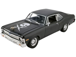 1971 Chevrolet Nova Matt Black Death Proof 2007 Movie Limited Edition 792 pieces Worldwide 1/18 Diecast Model Car GMP 18925