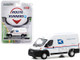 2019 RAM ProMaster 2500 Cargo High Roof Van United States Postal Service USPS White Route Runners Series 1 1/64 Diecast Model Greenlight 53010 F