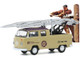 1972 Volkswagen Double Cab Pickup Ladder Truck Ringwell Telephone Company Norman Rockwell Series 3 1/64 Diecast Model Car Greenlight 54040 F
