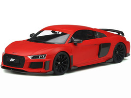 Audi ABT R8 Red Black Wheels Limited Edition 999 pieces Worldwide 1/18 Model Car GT Spirit GT282