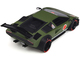 Lamborghini Khyzyl Saleem Huratach Matt Green Limited Edition 999 pieces Worldwide 1/18 Model Car GT Spirit GT809