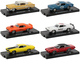 Drivers Set of 6 pieces in Blister Packs Release 69 Limited Edition 6000 pieces Worldwide 1/64 Diecast Model Cars M2 Machines 11228-69