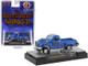 1950 Studebaker 2R Pickup Truck The South Bend Shaker Blue Heavy Metallic White Stripes Limited Edition 4400 pieces Worldwide 1/64 Diecast Model Car M2 Machines 31600-GS05