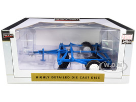 10 Foot Disc Harrow Blue Classic Series 1/16 Diecast Model SpecCast CUST1962