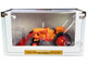 Minneapolis Moline 445 Wide Front Tractor Loader Orange Red Classic Series 1/16 Diecast Model SpecCast SCT745
