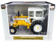 Minneapolis Moline G850 Wide Front Diesel Tractor Cab Yellow White Classic Series 1/16 Diecast Model SpecCast SCT756