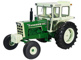 Oliver 1955 Wide Front Diesel Tractor Cab Green Classic Series 1/16 Diecast Model SpecCast SCT757