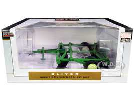 Oliver 242 10 Foot Disc Harrow Green Classic Series 1/16 Diecast Model SpecCast SCT768