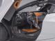 McLaren 720S Glacier White Metallic Black Top 1/18 Model Car Autoart 76071