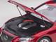 Lexus LS500h Morello Red Metallic Chrome Wheels 1/18 Model Car Autoart 78869