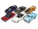 Autoworld Premium 2020 Set A of 6 pieces Release 4 1/64 Diecast Model Cars Autoworld 64272 A