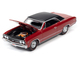 1967 Chevrolet Chevelle SS Bolero Red Flat Black Vinyl Top Hemmings Muscle Machines Magazine Cover Car January 2016 Limited Edition 9880 pieces Worldwide 1/64 Diecast Model Car Autoworld 64272 AWSP051 A