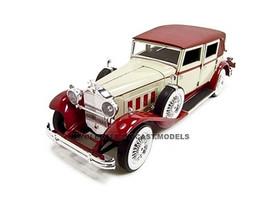 1930 Packard Lebaron Cream Red 1/18 Diecast Model Car Signature Models 18115