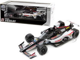 Dallara IndyCar #21 Rinus VeeKay SONAX Ed Carpenter Racing NTT IndyCar Series 2020 1/18 Diecast Model Car Greenlight 11098