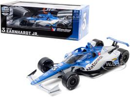 Dallara IndyCar #3 Dale Earnhardt Jr Nationwide JR Motorsports NTT IndyCar Series iRacing 2020 1/18 Diecast Model Car Greenlight 11099