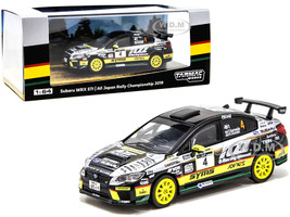 Subaru WRX STi #4 Kamada Suzuki All Japan Rally Championship 2019 1/64 Diecast Model Car Tarmac Works T64-016-19JRC