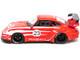 Porsche RWB 993 RWBWU #23 Red White Stripes RAUH-Welt BEGRIFF 1/64 Diecast Model Car Tarmac Works T64-017-WU