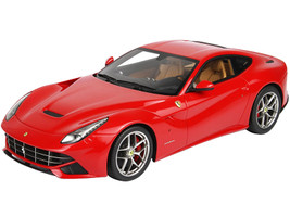 Ferrari F12 Berlinetta Red Rosso Corsa 322 DISPLAY CASE Limited Edition 40 pieces Worldwide 1/18 Model Car BBR P1841RC