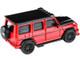 Mercedes AMG G63 Liberty Walk Wagon Red Black Hood Top 1/64 Diecast Model Car Paragon PA-55162