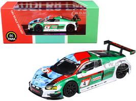 Audi R8 LMS #4 Audi Sport Team Phoenix Nurburgring P1 24 Hours 2019 1/64 Diecast Model Car Paragon PA-55251