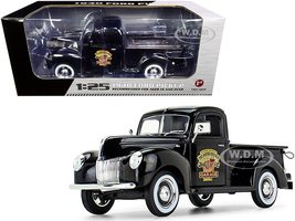 1940 Ford Pickup Truck Black The Busted Knuckle Garage 1/25 Diecast Model Car First Gear 49-0393B4